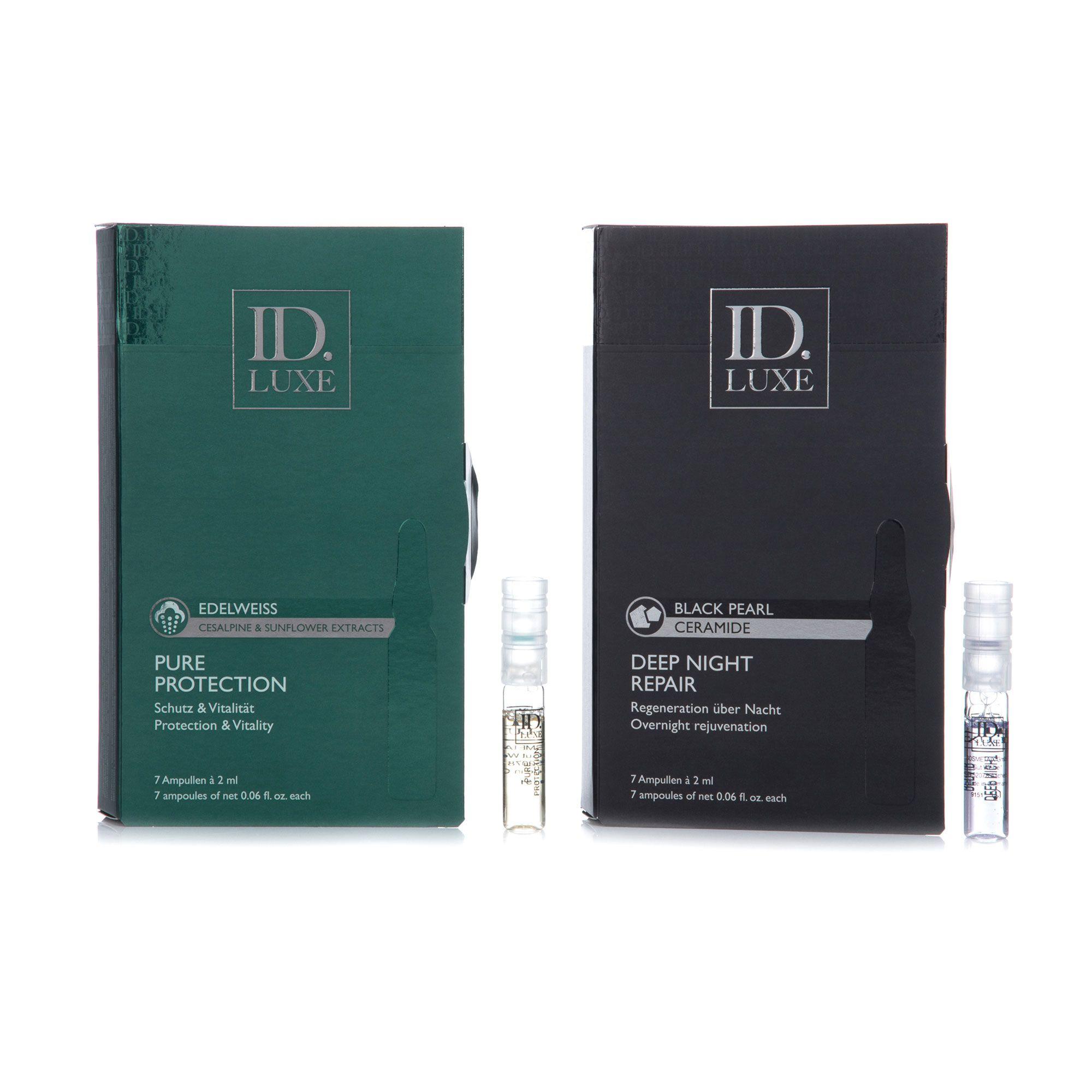 ID LUXE Pure Protection 7x 2ml & Deep Night Repair 7x 2ml