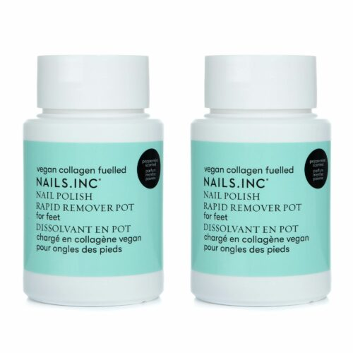NAILS.INC® Nagellack Entferner-Duo mit Collagen Pediküre 2x 60ml