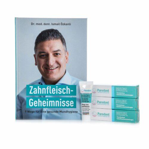 BEOVITA Parodont 3er Set Zahn- fleischpflege & Buch mit Tipps