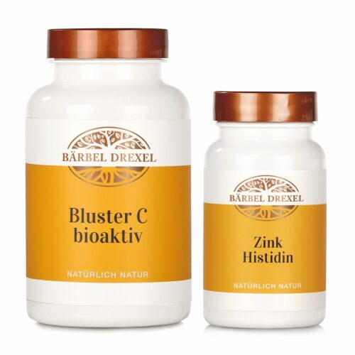 BÄRBEL DREXEL starkes Immunsystem-Set bestehend aus Bluster C & Zink