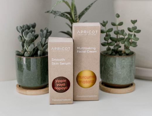 APRICOT Smooth Skin Serum & Multitasking Facial Cream