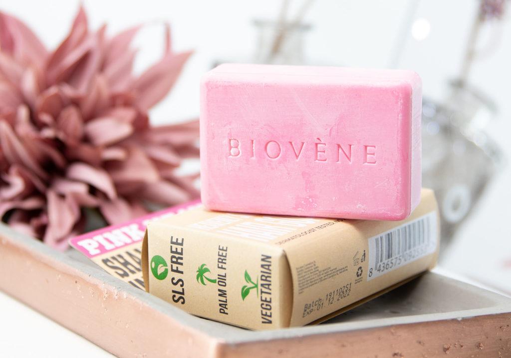 BIOVÉNE Pink Heaven Solid Shampoo