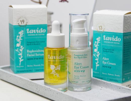 LAVIDO Replenishing Facial Serum & Alert Eye Cream