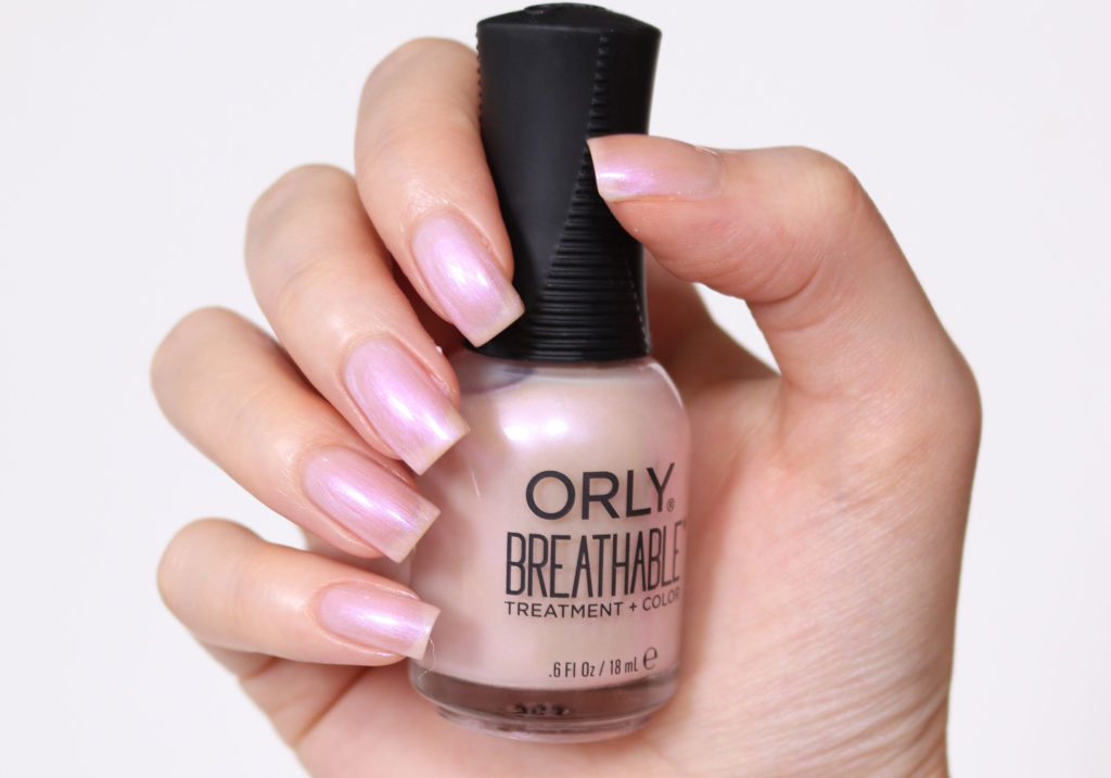 ORLY BREATHABLE Crystal Healing Swatch