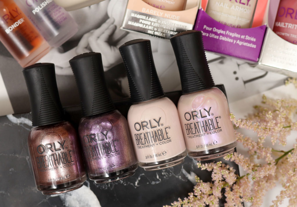 ORLY BREATHABLE Treatment Color Nail Polishes
