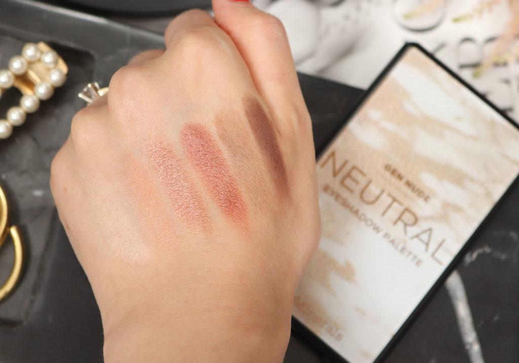 bareMinerals GEN NUDE Neutral Eyeshadow Palette Swatches