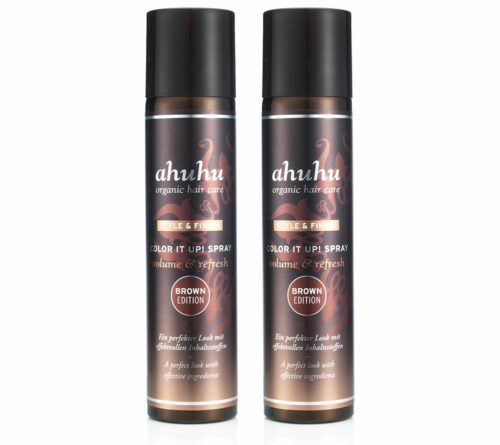 ahuhu organic hair care Color it up, farbiges Trockenshampoo-Duo je 300ml
