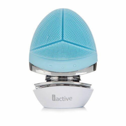 IACTIVE 3in1 LED-Silicone Facial Care Reinigungsbürste für tiefenreine Haut