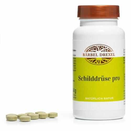 BÄRBEL DREXEL Schilddrüse Pro mit Selen und Vitamin D 210 Presslinge für 210 Tage