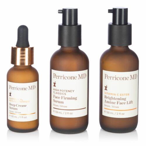 DR. PERRICONE Serum Trio für mehr Ausstrahlung & strafferes Hautbild