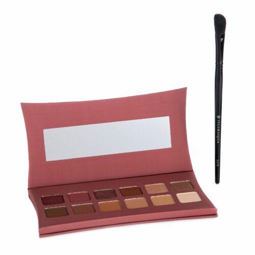 ILLAMASQUA Augen-Make-up-Set Lidschattenpalette inkl. Pinsel 2tlg.