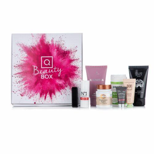 QVC Beauty Box zum Testen & Kennenlernen von 8 Marken