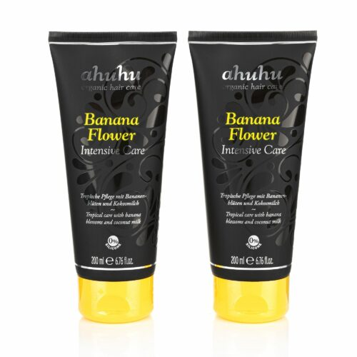 ahuhu organic hair care Intensive Care Bananaflower 2x 200ml