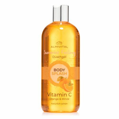 ALMIVITAL Bodysplash Summerfeeling Duschgel mit Vitamin C 500ml