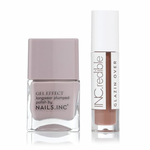 NAILS INC Nail & Lip Duo Nagellack 14ml Lipgloss 3,4ml