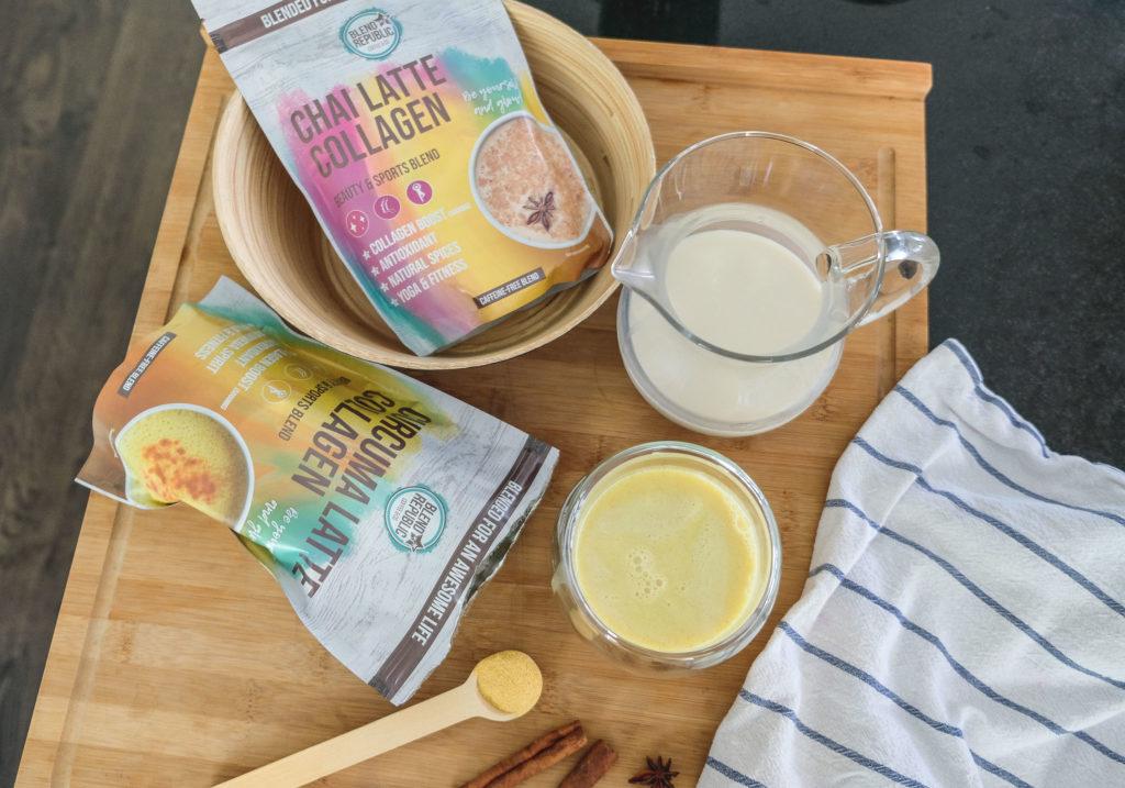 BLEND REPUBLIC Chai & Curcuma Latte Collagen