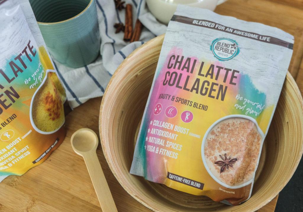 BLEND REPUBLIC Chai Latte Collagen
