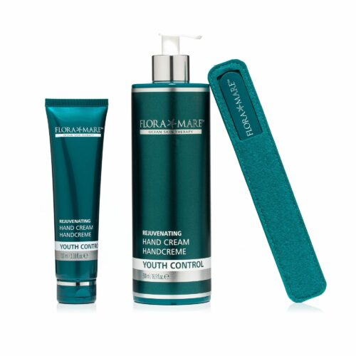 FLORA MARE™ Youth Control Handcreme 500ml Handcreme 100ml Glasnagelfeile