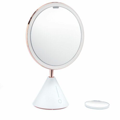 TOUCH BEAUTY Smart Mirror Kosmetikspiegel mit dimmbarem Licht und Vergrößerungsspiegel