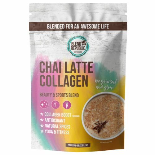 BLEND REPUBLIC Chai Latte mit Collagen 30 Portionen 300g