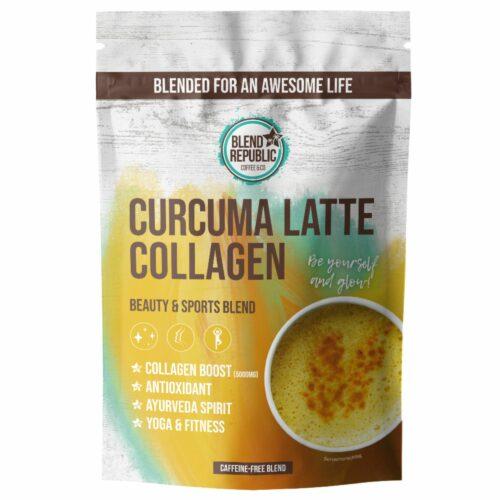 BLEND REPUBLIC Curcuma Latte mit Collagen 30 Portionen 300g