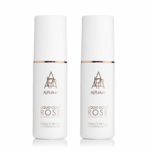 ALPHA-H Liquid Gold Lotion Rose Duo 2x 100ml