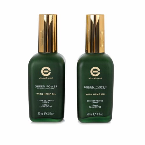 ELIZABETH GRANT Green Power & Hemp Oil Concentrated Serum 2x 90ml
