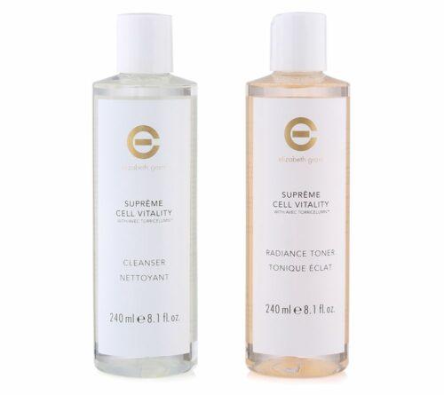 ELIZABETH GRANT Supreme Cell Vitality Cleanser & Toner 2x 240ml