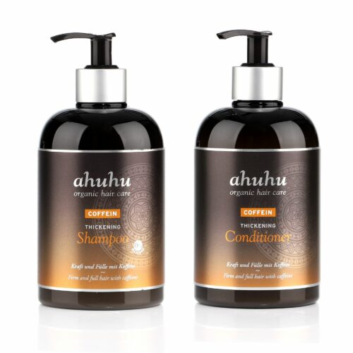 ahuhu organic hair care Coffein Shampoo Coffein Conditioner je 500ml