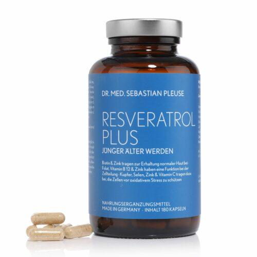 Dr. med. Sebastian Pleuse Resveratrol Plus 180 Kapseln für 12 Wochen