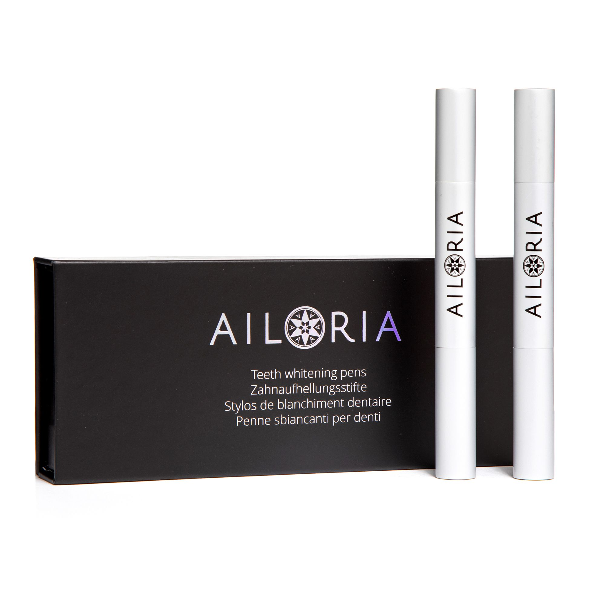 AILORIA White On Whitening-Pen Doppelpack für LED-Schiene