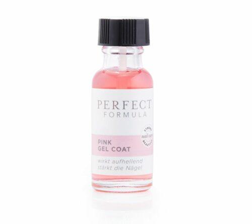 PERFECT FORMULA Pink Gel Coat stärkender Unterlack aufhellend rosafarben, 18ml