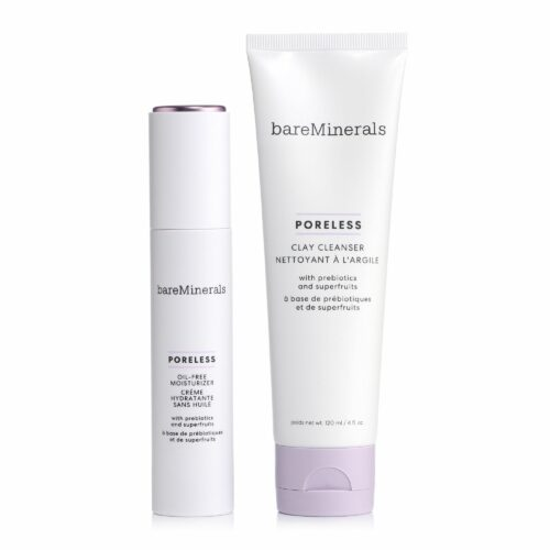 bareMinerals® Poreless Duo Poreless Clay Cleanser 120ml & Moisturizer 50ml