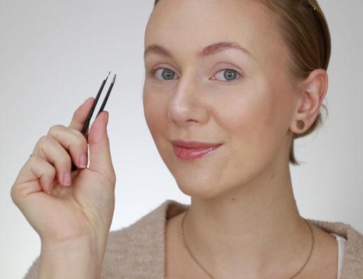 Augenbrauen-Styling