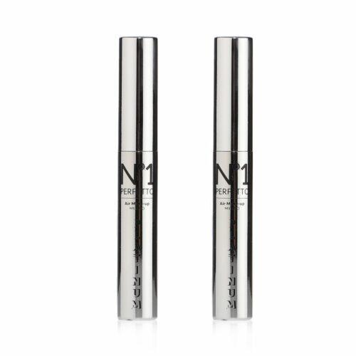 PERFETTO NO 1 Lippen Balsam-Duo Air Gloss Platinum feuchtigkeitsspendend 2x 9ml
