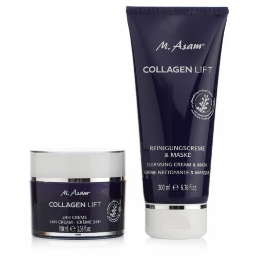 M.ASAM® Collagen Lift 24h-Creme 100ml Reinigungscreme & Maske (2in1) 200ml