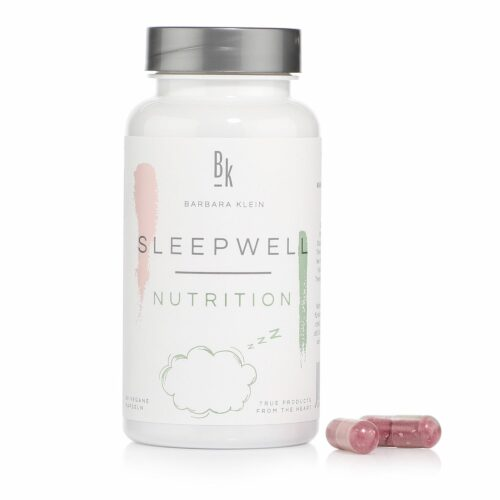 BK by Barbara Klein Sleep Well mit BerryShield™, Zink & Niacin 60 Kapseln, 30 Tage
