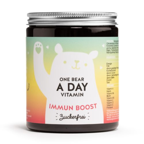BEARS WITH BENEFITS One Bear a Day Vitamin Immun Boost mit Vitamin C & D 90 Stück für 90 Tage