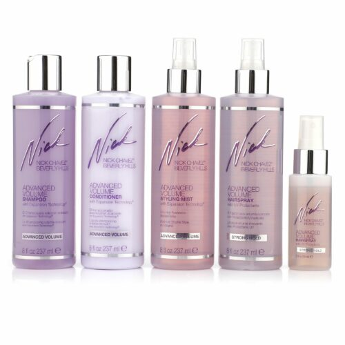 NICK CHAVEZ® Volumen Shampoo Conditioner Mist Haarspray je 237ml Haarspray Mini 60ml