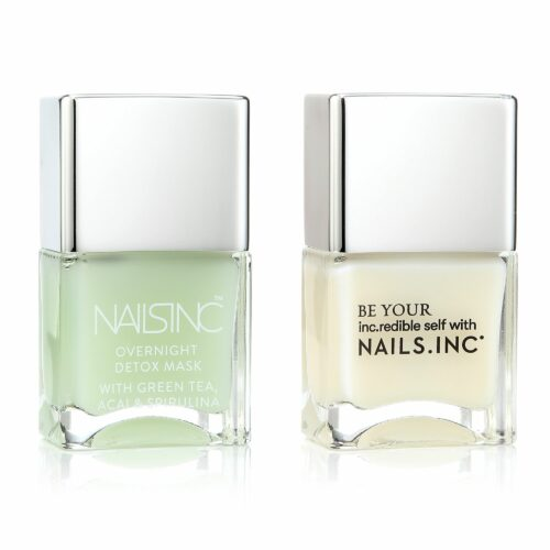 NAILS.INC® Day & Night Care Overnight Detox Gel-Rehabilitation 2x 14ml