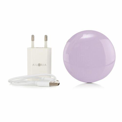 AILORIA Maquillage Kosmetikspiegel mit 2 Lichtstufen aufladbar