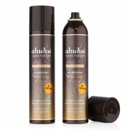 ahuhu organic hair care Coffein Hairspray 2x 300ml