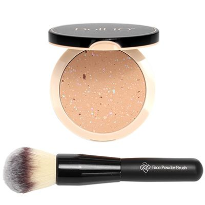 DOLL 10 BEAUTY Finish Puder farbkorrigierend inkl. Pinsel
