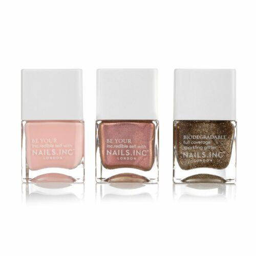 NAILS.INC® Nagellack-Set Love is Present Farblacke 3x 14ml in Geschenkbox