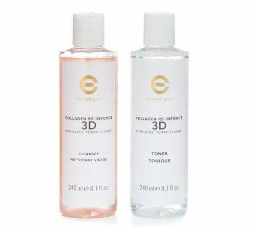 ELIZABETH GRANT Collagen 3D-Lift Reinigungsgel & Gesichtswasser 2x 240ml