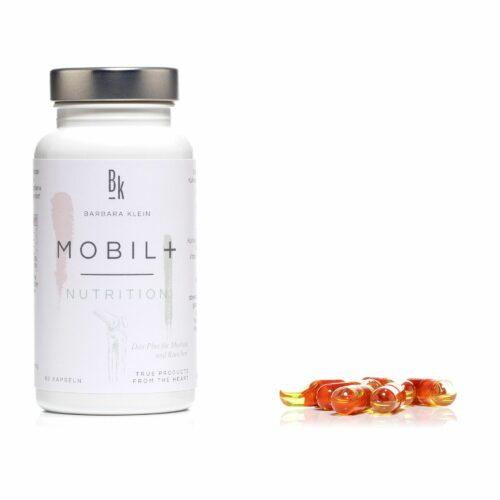 BK by Barbara Klein Mobil+ mit Fischöl, Kurkuma, Vitamin D und K 60 Duokapseln für 60 Tage