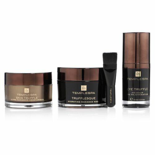 TEMPLE SPA Pure Luxury Gift Kit Augencreme 15 ml, Maske 75ml, Gesichtscreme 50ml