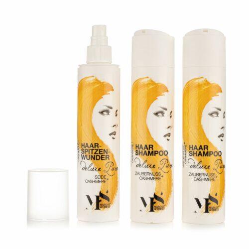 MARGOT SCHMITT® Deluxe Pure Shampoo 2x 250ml Haarspitzenwunder 250ml