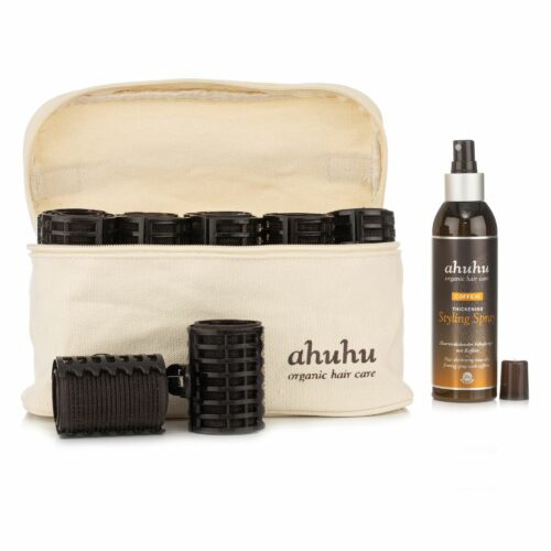 ahuhu organic hair care Hair Curlers Set Coffein Styling Spray 200ml