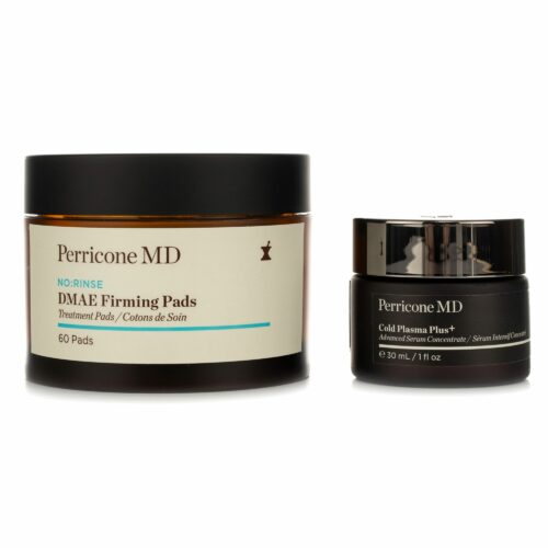 DR. PERRICONE Cold Plasma Plus+ Face 30ml & No:Rinse DMAE Firming Pads 60 Stück